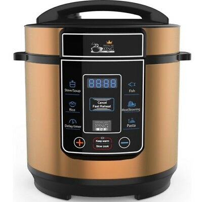 Pressure King Pro (3L) 8-in-1 Digital Pressure Cooker Copper