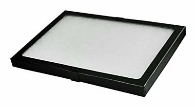 """SE JT928 Glass Top Display Box with Metal Clips, 12"""" x 8.25"""" x 0.75"""" New"""