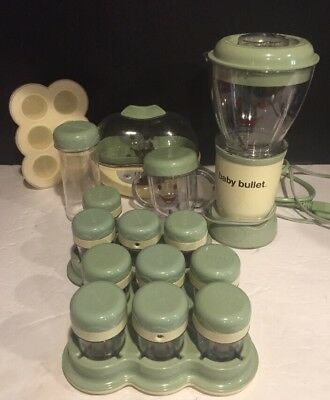 Magic Bullet Baby Bullet Food Making System Plus Turbo Steamer