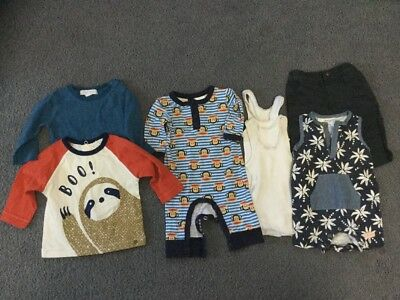 Baby Clothes Bundle Size 000 Mixed Pumpkin Patch/sprout/jack&milly/paul Frank