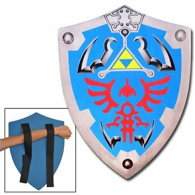 Legend of Zelda Link Hylian Hyrule Triforce Foam Shield LARP 1L2-FM786 New