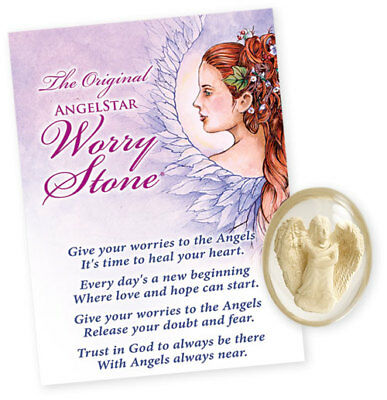 Hope Worry Stone by AngelStar # 8715