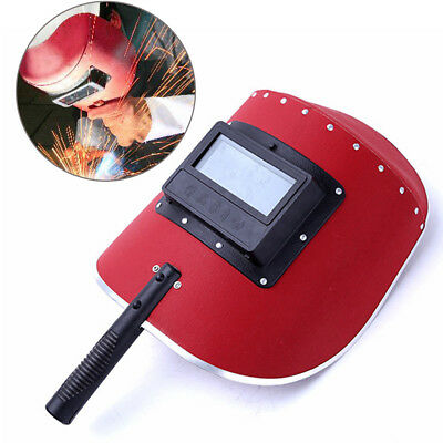 NEW Modern Anti-glare Welding Mask Safety Protects Face Handheld Half-auto Mask