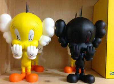 2018 KAWS Companion ORIGINAL FAKE KAWS TWEETY TOY  Figure EXCLUSIVE 8""