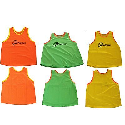 Pioneer Training Bibs Top Quality Football Netball Rugby Hockey Cricket