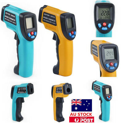 Infrared IR Temp Digital Thermometer Handheld Portable Non-Contact Laser Gun