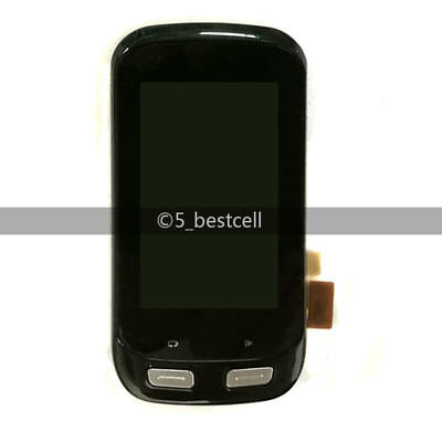Neu Black Touch Digitizer+Lcd Display Assembly Parts Für Garmin Edge 1000
