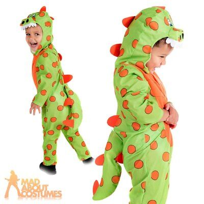 Toddler Dinosaur Costume Animal T-Rex Book Week Day Fancy Dress Outfit Kids