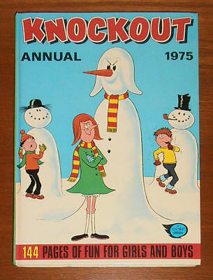 KNOCKOUT Annual 1975 like Whizzer and Chips Whoopee! Buster