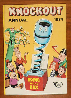 KNOCKOUT Annual 1974 - SECOND ONE - FINE  like Whizzer and Chips Whoopee Buster
