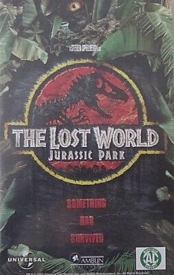 The Lost World: Jurassic Park  - By Steven Spielberg - Vhs  (+ 3D Card)