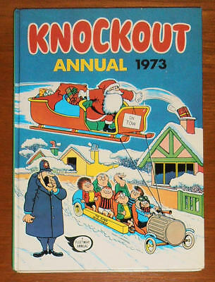 KNOCKOUT Annual 1973 - FIRST ONE - like Whizzer and Chips Whoopee Buster Cor!!
