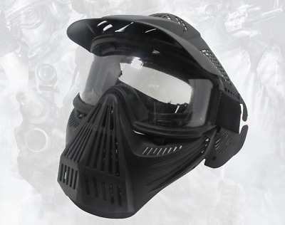 Paintball Airsoft Tactical Military CS Combat Protective Goggles Full Face Mask
