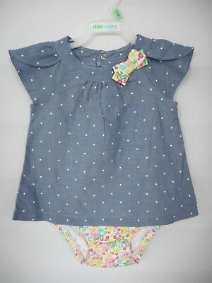 Child Of Mine by Carters Infant Toddler Girl Dress Various Sizes