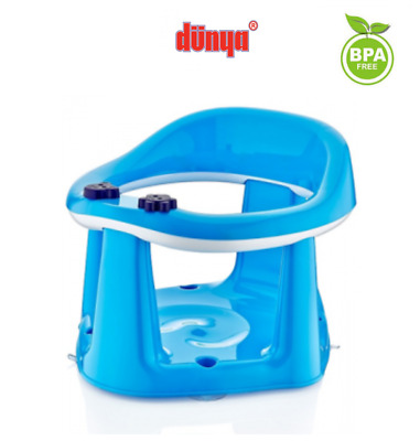 Baby Infant Toddler Kids Bathing Bath Dining Play 3 in 1 Support Seat Chair Blue