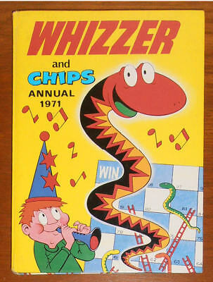 WHIZZER and CHIPS Annual 1971 - FIRST ONE - like Buster Whoopee Cor!! SCARCE