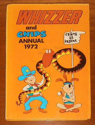 WHIZZER and CHIPS Annual 1972 - SECOND ONE - like Buster Whoopee Cor!!