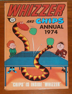 WHIZZER and CHIPS Annual 1974 - like Buster Whoopee Cor!!