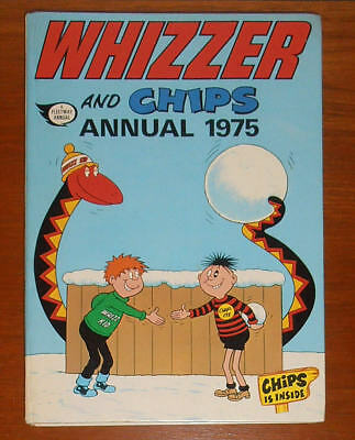 WHIZZER and CHIPS Annual 1975 - near FINE - like Buster Whoopee Cor!!