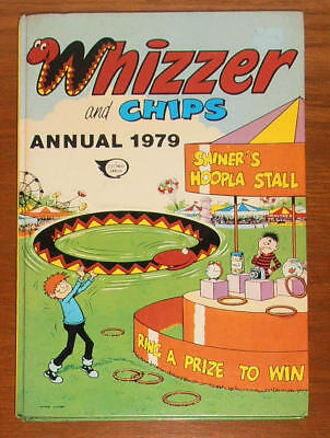 WHIZZER and CHIPS Annual 1979 - like Buster Whoopee Cor!!
