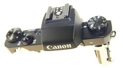 Canon Powershot G5X Top Cover With Flash Unit Genuine New Canon