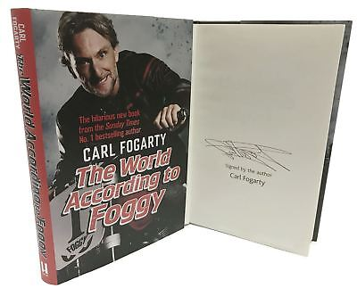 Signed Book - The World According to Foggy by Carl Fogarty First Edition 1st P