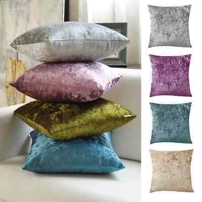 "English Damask Luxury Flock Cushion Covers Sofa Decoration 18""X18"" Uk Seller"