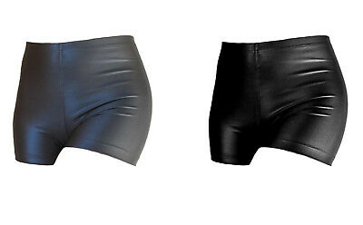 ervy Hot Pants Super Gloss wetlook kurze Hose Gymnastik Fitness Turnen Akrobatik