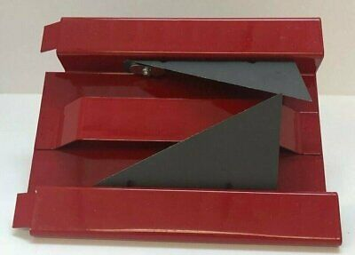 "AmCraft 1084 RED 1-1/2"" 90° ""V"" Kerfing Tool for Duct Board"
