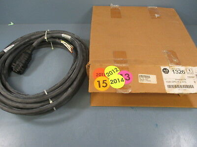 Allen Bradley 1326-CPC1T-L-015 Ser.B 15M Servo Motor Power Cable - New