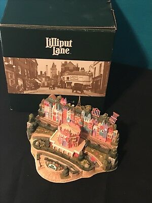 Lilliput Lane Disney Figurine It's A Small World LE 400 Signed By Ray Day -Mint