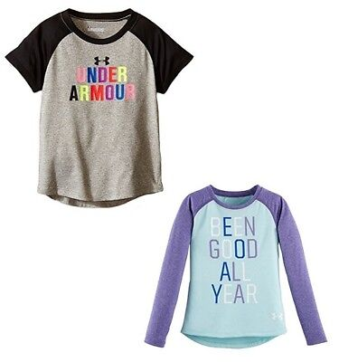 Brand NEW - Under Armour Little Girls' Graphic Print T-Shirt - Pick Size & Color