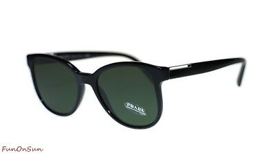 18bfe39b74a5d PRADA MENS SUNGLASSES PR08US 1AB1I0 Black  Green Square 54mm -  220.00