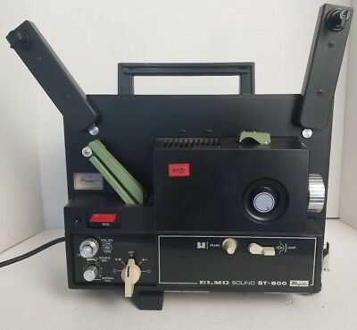 Elmo Super 8 Projector ST-800 Stereo Sound Working