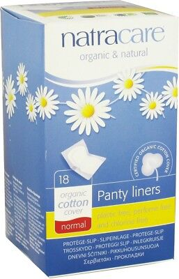 Panty Liners, Natracare, 18 count