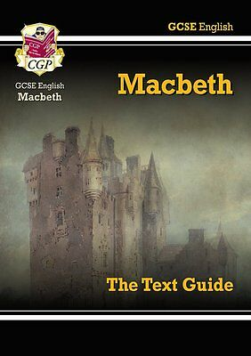 GCSE English Shakespeare Text Guide Macbeth CGP Books CGP Books Paperback New