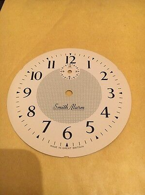 CLOCK DIAL SMITHS ALARM / Face X 1 VINTAGE OLD NEW STOCK