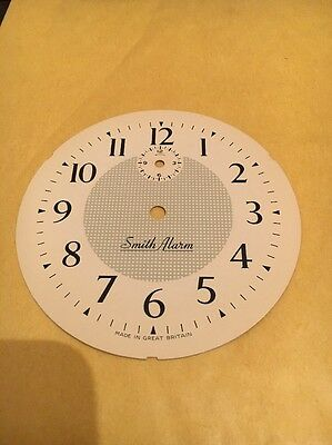SMITHS ALARM CLOCK DIAL/ Face X 1 VINTAGE OLD NEW STOCK