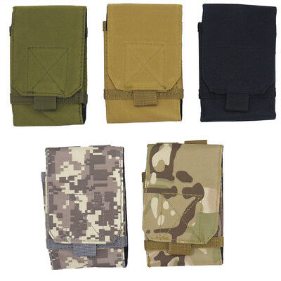 Universal Army Tactical Bag Mobile Phone Belt Pouch Holster Waist Cover Case Hot