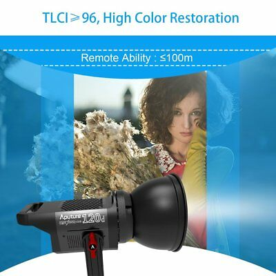 Aputure LS COB 120d LED Video Light Aputure Light Storm CRI 96 And Active Fan EL