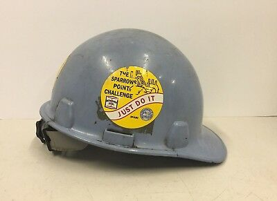Vintage Bethlehem Steel Sparrows Point Safety Helmet Hard Hat Baltimore MD