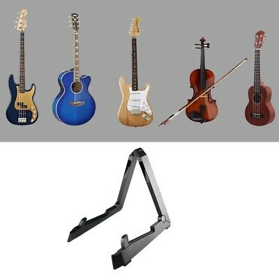 Metal guitar stand Universal foldable A-Frame stand supports Guitars Bass Black