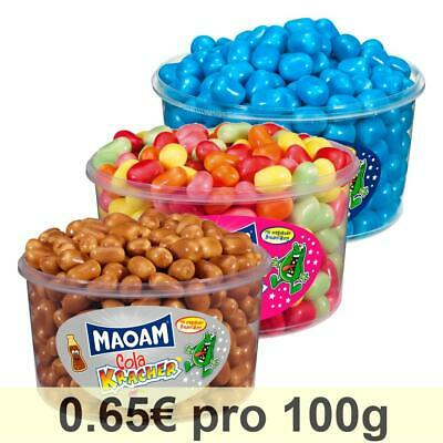 Haribo Maoam 3er Set Cola Kracher Blue Fruchtkracher Dragees Kaubonbon