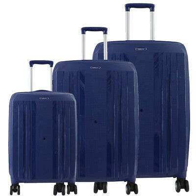 NEW Jetsetter Luggage Set 3 pcs PP hardcase Suitcase set