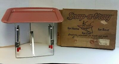 VINTAGE DRIVE-IN CAR HOP SERVING TRAY IN ORIGINAL SHIPPING BOX 1950s