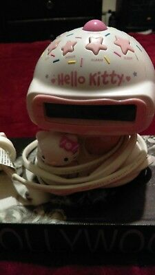 Hello Kitty Ice Cream Alarm Clock Radio