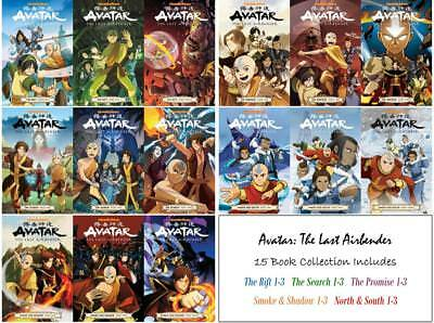 Gene Luen Yang's AVATAR: THE LAST AIRBENDER Graphic Novel 15 Book Collection