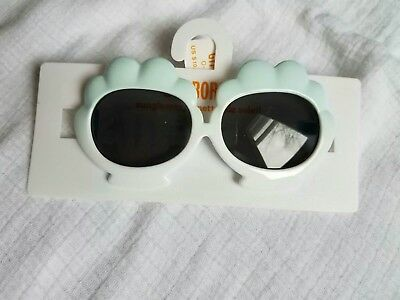 Gymboree NWT Baby Toddler Girl 0-2 Years Sea Shell Sunglasses Blue