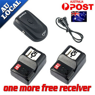 Wireless 4Channel Speedlite Remote Flash Trigger Receiver for Canon Nikon Camera