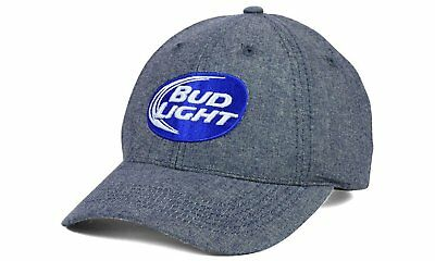Budweiser Bud Light Beer Men's Adjustable Strapback Hat Cap by Top of the World